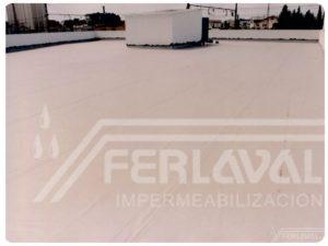 Impermeabilización terraza Renault. Binéfar.