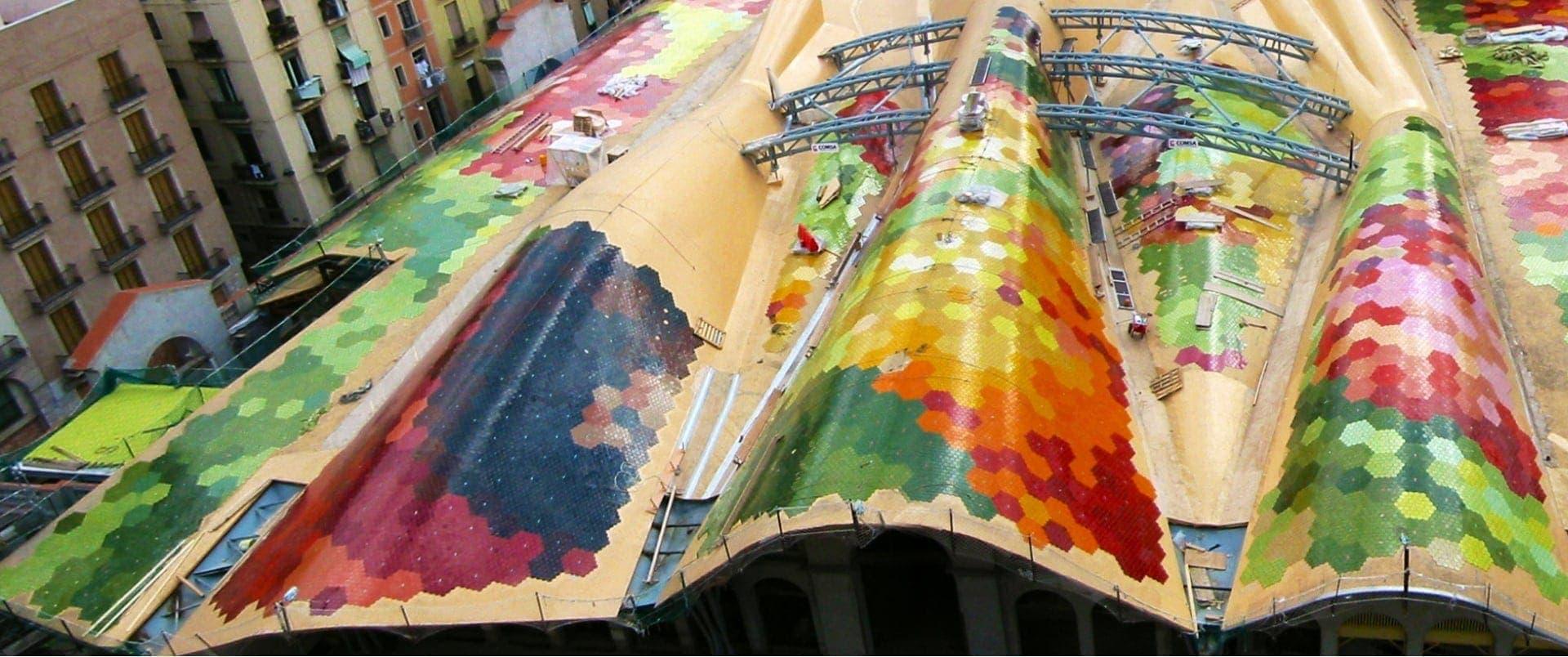 Impermeabilización cubierta mercado Santa Caterina Barcelona sp-no-webp